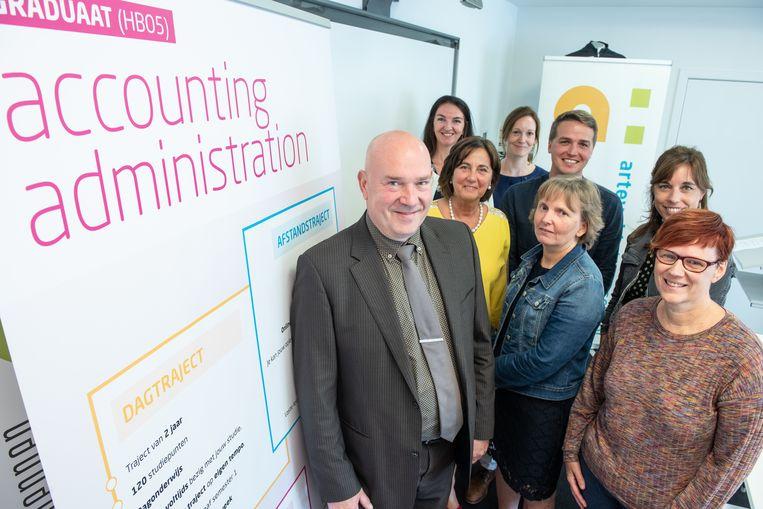 Het team dat de opleiding in Oudenaarde aanbiedt.