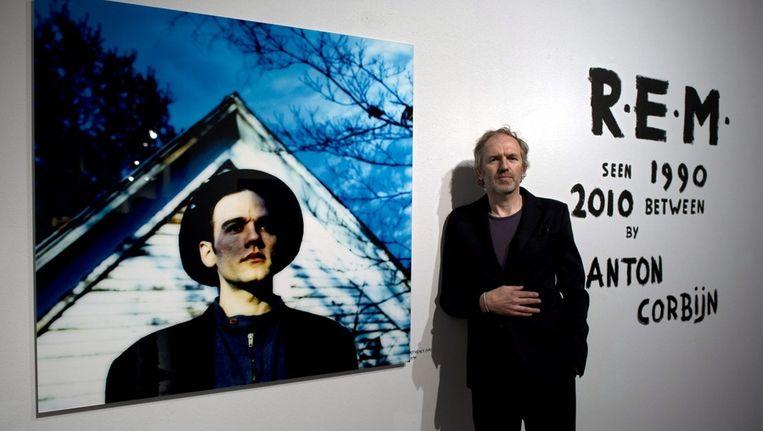 Fotograaf Anton Corbijn in het Albertineum in Dresden in april van dit jaar. Beeld EPA