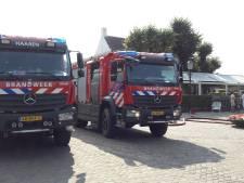 Bij herberg De Drie Linden schenken ze nu vooral koffie voor de brandweer