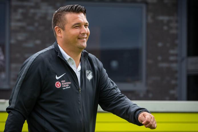Dennis van Beukering keek tevreden terug op de bekerwedstrijd in Leek.
