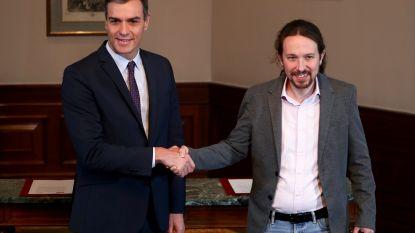 Amper anderhalve dag na de verkiezingen: Spaanse socialisten vormen coalitie met uiterst linkse Podemos