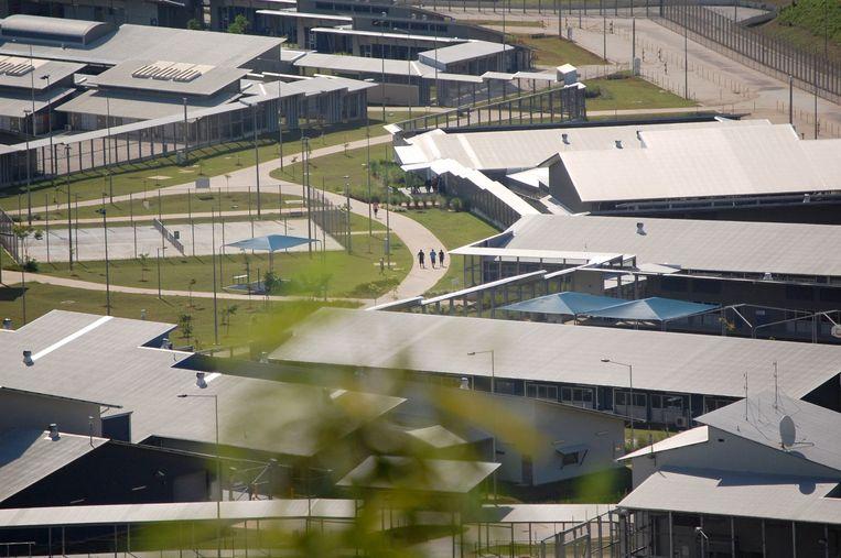 Het detentiecentrum op Christmas Island dat in 2018 gesloten werd. Australiërs die uit China terugkeren, zullen in dit centrum in quarantaine worden geplaatst.