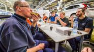 Zes miljoenste Volvo rolt van de band in Gent en dat wordt gevierd met 6.000 éclairs