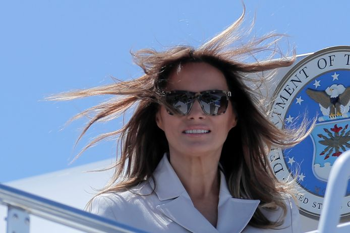 De 'echte' Melania Trump.