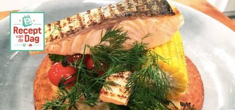 Recept van de dag: Tostada met gegrilde zalm