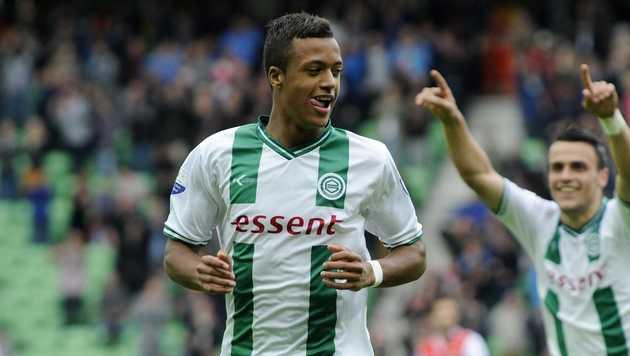FC Groningen-speler Richairo Zivkovic.