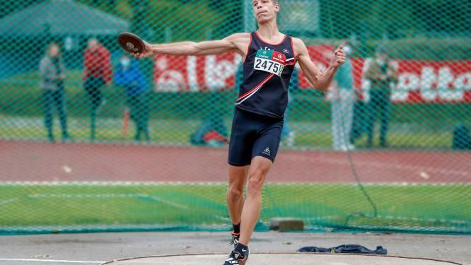 Thomas Van der Poel Belgisch scholierenkampioen tienkamp