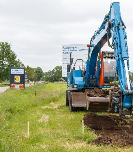 Raad baalt van gedoe rond fietspad in Punthorst