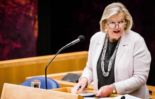 Staatssecretaris Ankie Broekers-Knol (Asiel)