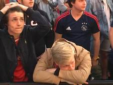 Frustratie en teleurstelling na nederlaag Ajax