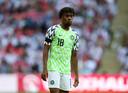 Alex Iwobi met het gewilde Nigeria-shirt.