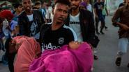 Rellen in Grieks vluchtelingenkamp nadat vrouw en kind sterven in brand