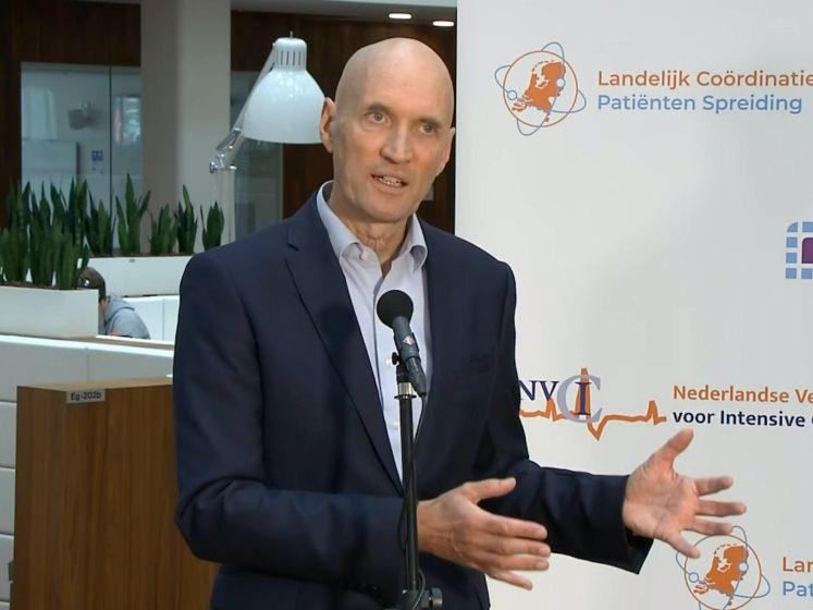 Ernst Kuipers: Aantal opgenomen covidpatiënten stijgt met 86