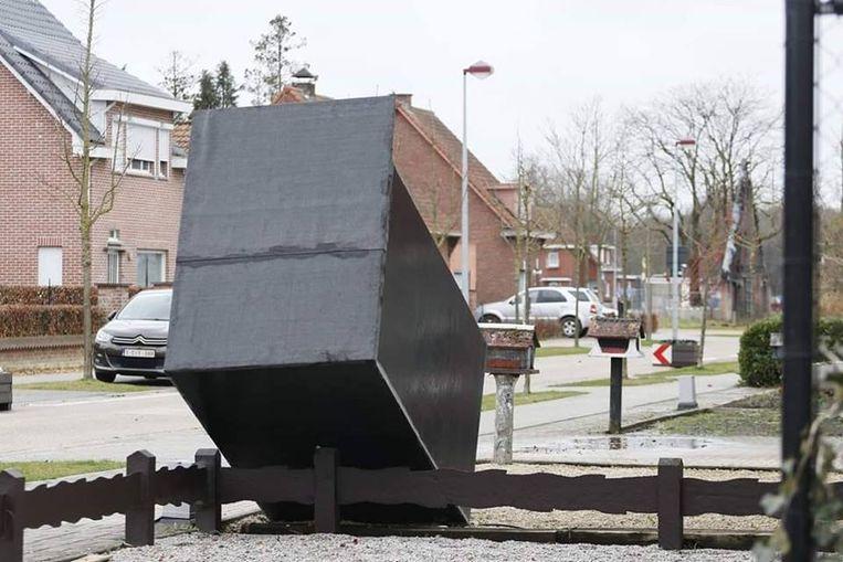 In Sint-Jozef Rijkevorsel ging een broodautomaat waaien
