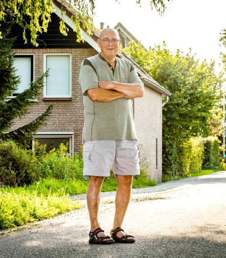 Oud-leerling Drikus Vermaas denkt met  weemoed terug aan oude school