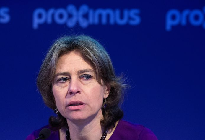Dominique Leroy, l'ex-CEO de Proximus