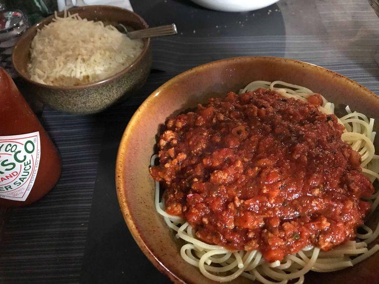 Spaghettifestijn ten voordele van Luca Van Boven.
