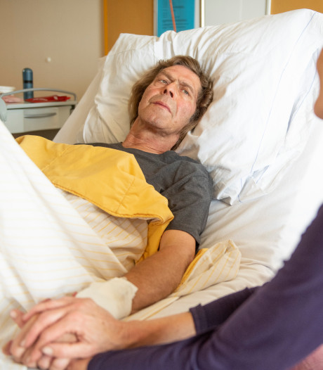 Frits liep gevaarlijk TBE-tekenvirus op en is er slecht aan toe