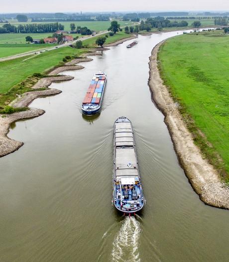 Wegzakkende IJssel dreigt onbevaarbaar te worden