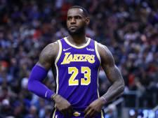 Play-offs raken uit zicht voor LeBron James en LA Lakers