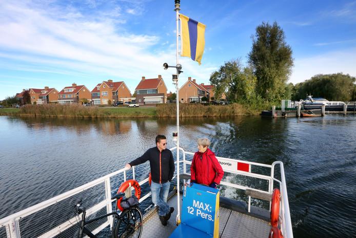 Het Markpontje tussen Terheijden en de Haagse Beemden vaart iedere dag heen en weer tot 18.00 uur.