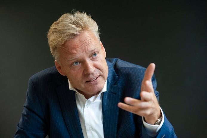 Burgemeester Mark Buijs van Boxtel.