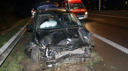 'Dronken bestuurder met rijverbod' crasht op E313