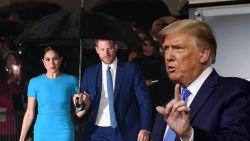 """Donald Trump haalt uit naar Meghan Markle: """"Ik wens Harry veel geluk. Hij zal het nodig hebben"""""""
