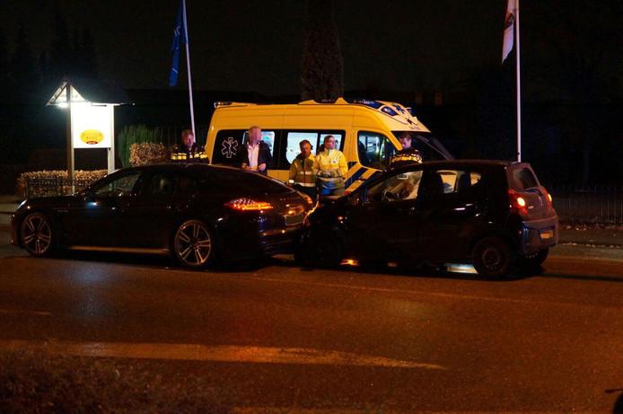 De twee bestuurders van de voertuigen hoefden niet mee naar het ziekenhuis.