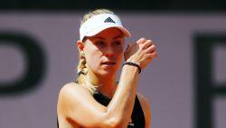 Eerste verrassing op Roland Garros: Kerber roemloos onderuit in eerste ronde - Muguruza wel door