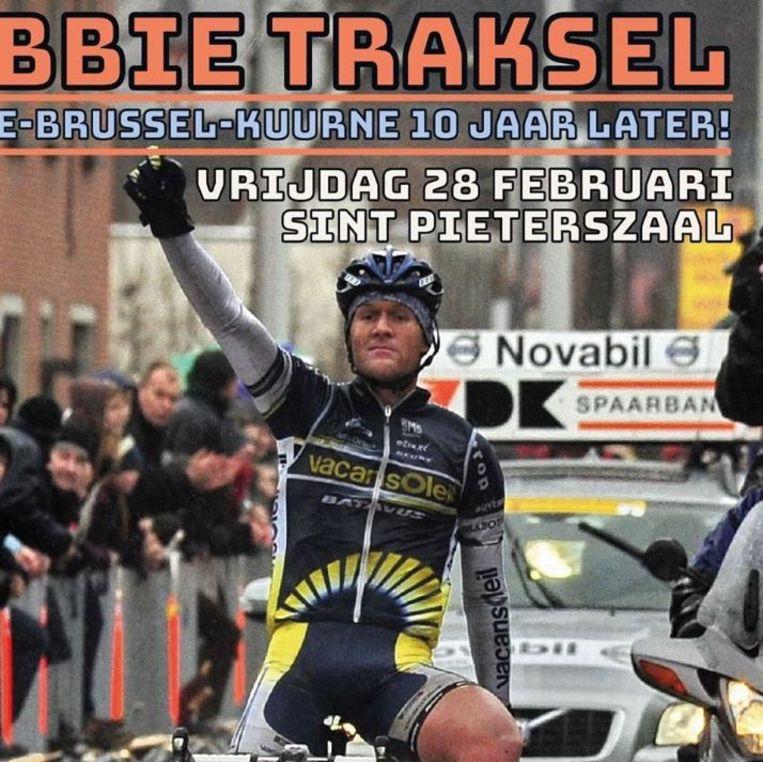 De Nederlandse voormalige wielrenner Bobbie Traksel komt vrijdagavond naar Kuurne.