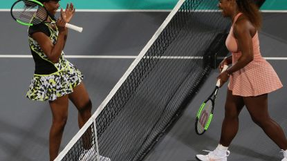 Venus klopt Serena Williams in Abu Dhabi, Yanina Wickmayer start vrijdag seizoen in Brisbane