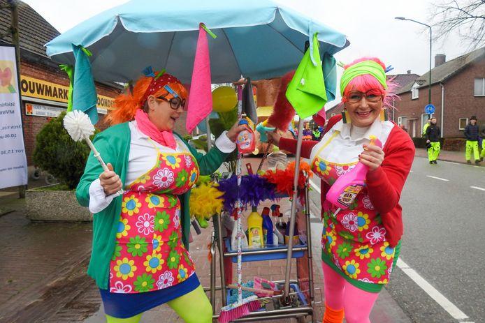 De carnavalsoptocht in Bergeijk van dit jaar