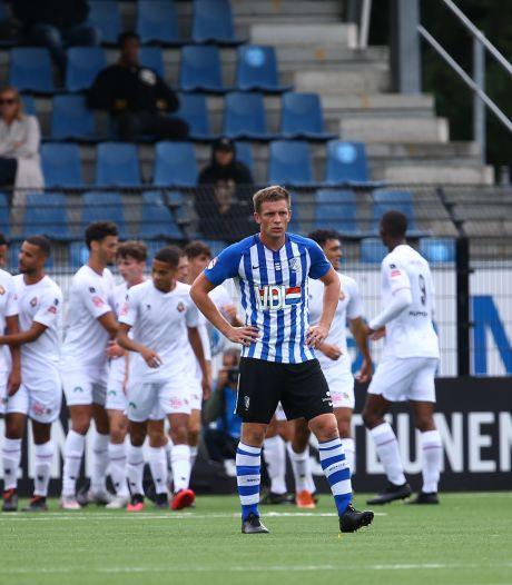 FC Eindhoven met lege handen ondanks spectaculair begin tweede helft