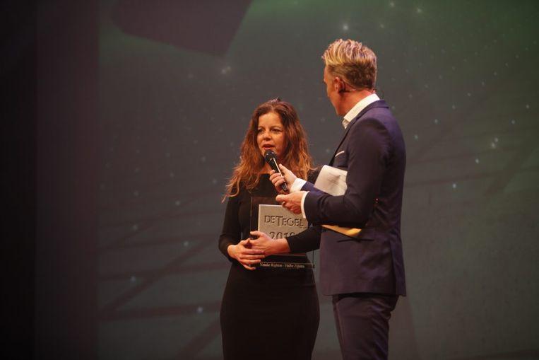 Natalie Righton won een tegel in de categorie Nieuws. Beeld