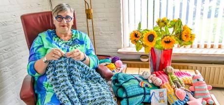 De dekentjes van Eely-Janna bieden troost aan zieke kinderen