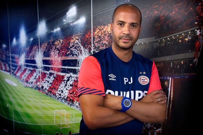 Pascal Jansen in 2015, in dienst van PSV.