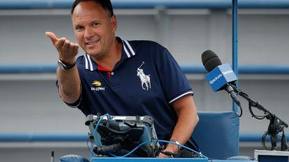 Umpire die Kyrgios moed insprak op US Open, is twee weken geschorst