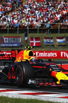 GP van Hongarije in 2018 thuisfeestje voor Max Verstappen
