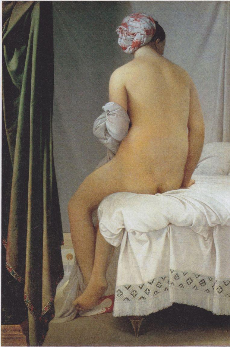 Jean-Auguste-Dominique Ingres: La Baigneuse Valpinçon (1808). Beeld Musée du Louvre, Paris