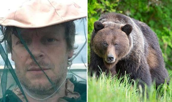 Julien is het noodlot tegengekomen in de gedaante van een beer.