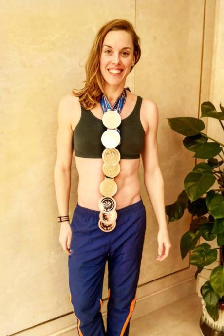 Heemskerk heeft medailleketting, Wester blij met brons