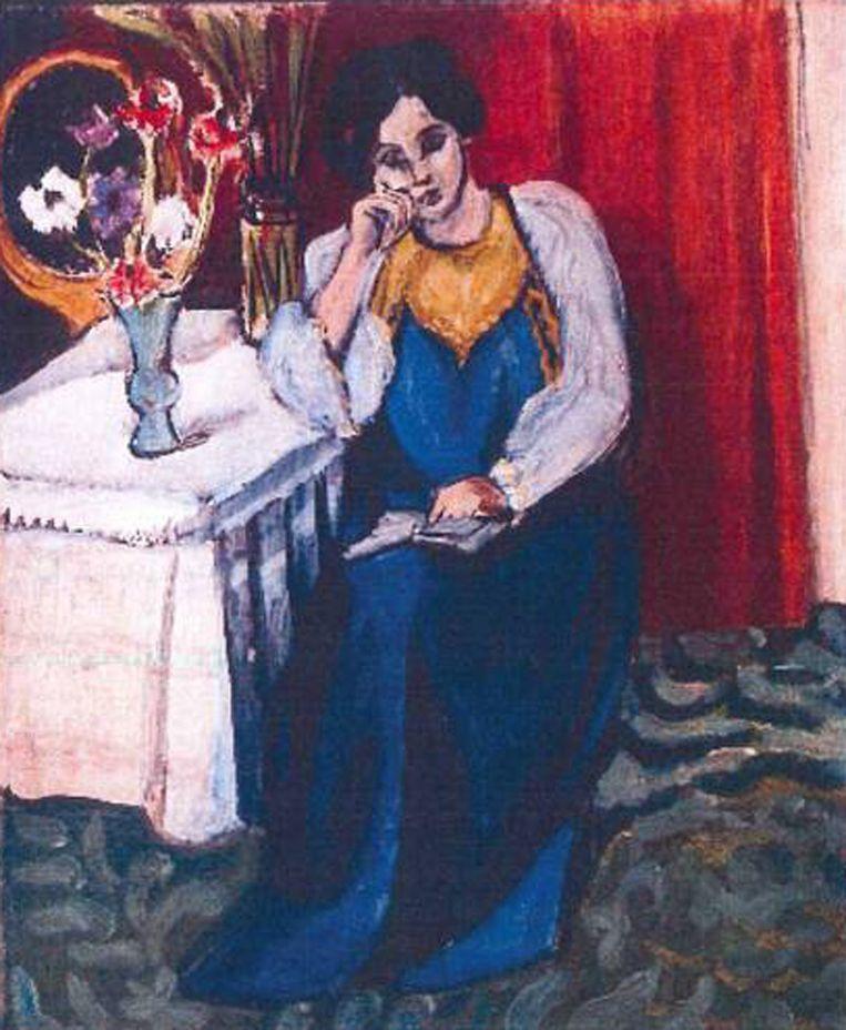 null Beeld Henri Matisse: 'la Liseuse en Blanc et Jaune' (1919)