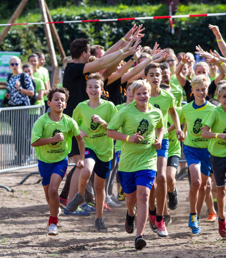 500 sportievelingen zien af én genieten bij Obstacle Run in Lochem