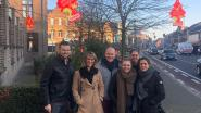Jong CD&V Pelt hangt luchtverfrissers in Koning Albertlaan