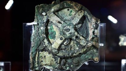 Duikers vinden onderdeel van 's werelds eerste analoge computer uit de eerste eeuw voor Christus