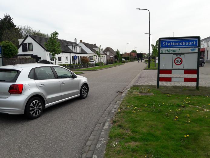 De Halteweg bij Rilland.