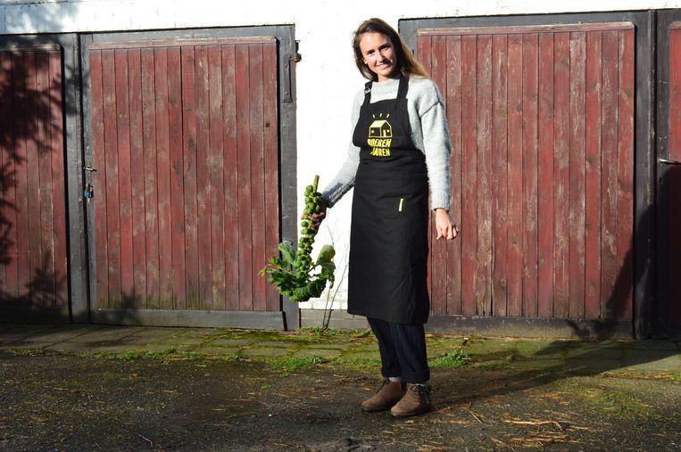 Lien Goossens biedt met de Buurderij in Mol lekkere en gezonde producten van lokale boeren aan.