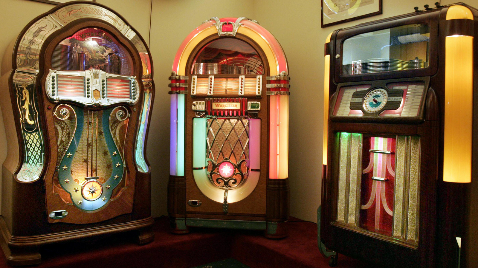 Vianen Jukebox museum - JUKEBOXEN