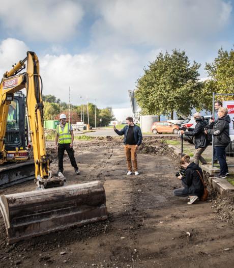 """Aanleg grootste skatepark van het land gestart: """"Hiervoor komt men van alle uithoeken van Europa naar Gent"""""""